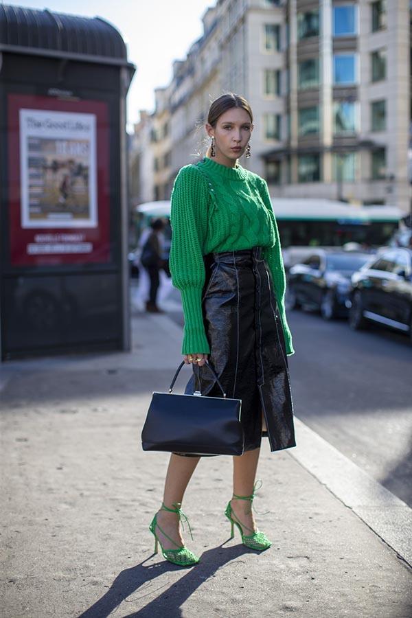 Trendi iz modnih prestolnic: Zelena